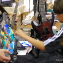 Maker Faire 2009: LCD Guitar