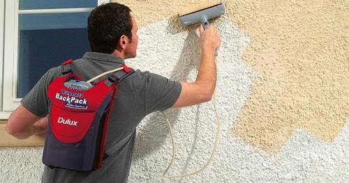 Dulux Weathershield BackPack Roller System (Image courtesy Dulux)