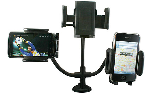 Super Universal Car Mount for Phone, GPS, iPhone, iPod... (Image courtesy USBFever.com)