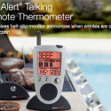 Talking Wireless Grill Thermometer Helps Cook Steak