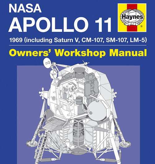 NASA Apollo 11 Manual (Image courtesy Haynes)