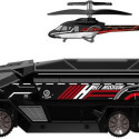 Silverlit Heli-Mission RC SWAT Truck Hides An RC Helicopter In The Back