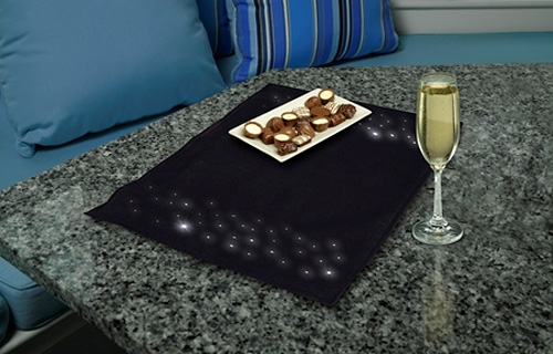 Sylvania LED Placemat (Image courtesy Sylvania)