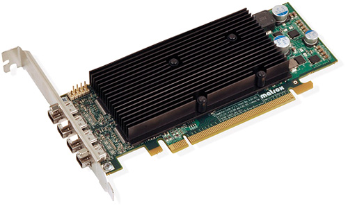 Matrox M9148 LP PCIe x16 (Image courtesy Matrox)