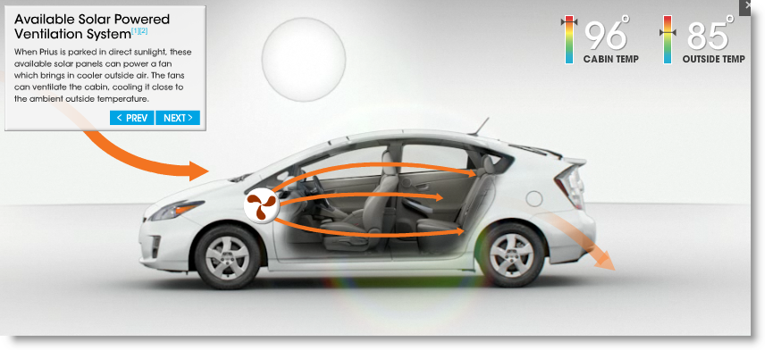 toyota prius sports solar roof saves you from summer sizzle ohgizmo rh ohgizmo com Toyota Prius V used prius solar sunroof for sale