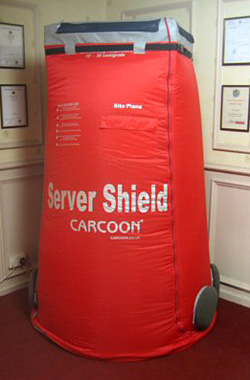 Carcoon Server Shield (Image courtesy Carcoon)