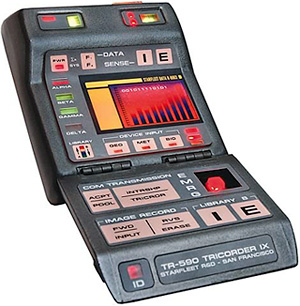 Star Trek Mark IX Science Tricorder Replica (Image courtesy Entertainment Earth)