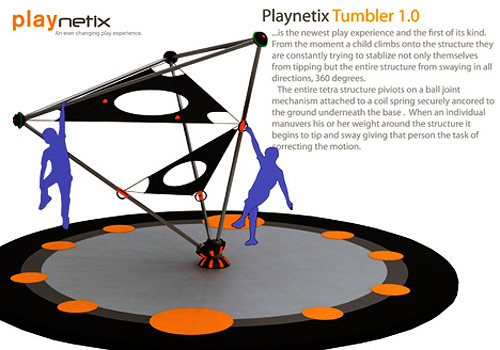 Playnetix Tumbler 1.0 (Image courtesy Yanko Design)