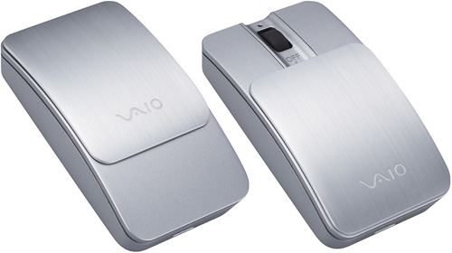 Sony Vaio VGP-BMS10 Compact Bluetooth Mouse (Images courtesy Sony)