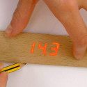 Analog Ruler With Digital Display