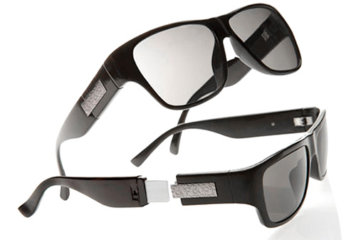 ck Calvin Klein USB Sunglasses (Image courtesy Men.Style.com)