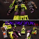 Custom Devastator Figure Belongs In An Art Gallery