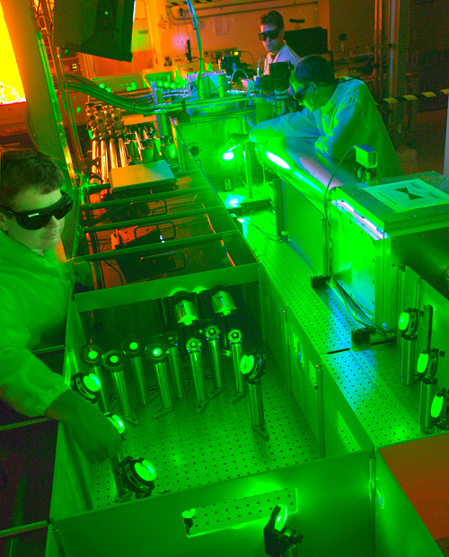 Berkeley Lab Laser Accelerator (Image courtesy Lawrence Berkeley National Laboratory)