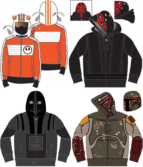 Marc Ecko Star Wars Hoodies (Images courtesy Star Wars Shop)