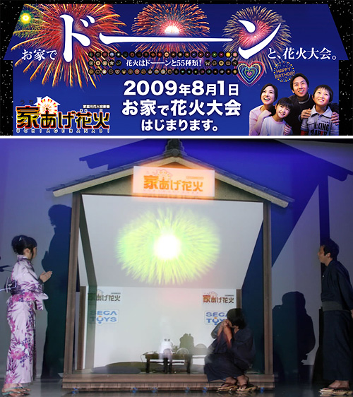 Sega Fireworks Projector (Images courtesy Sega & Newlaunches)