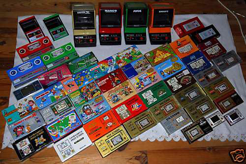 Rare: Full Nintendo Game & Watch Collection !!! (Image courtesy eBay)