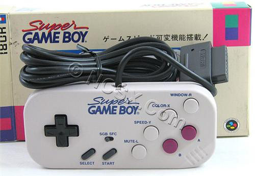 Super Gameboy Commander for Super Famicom (Image courtesy NCSX)