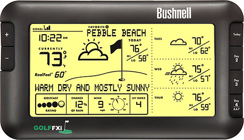 Bushnell Golf FXi Weather Forecaster (Image courtesy Uncrate)
