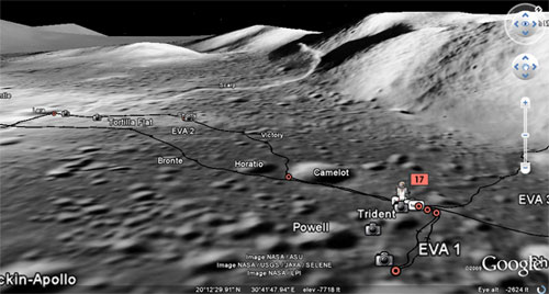 lunar landing sites visible from earth - photo #27