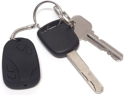 JTT Spy Camera Keychain (Image courtesy Geek Stuff 4 U)
