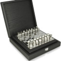 Tonino Lamborghini Silver Chess Set