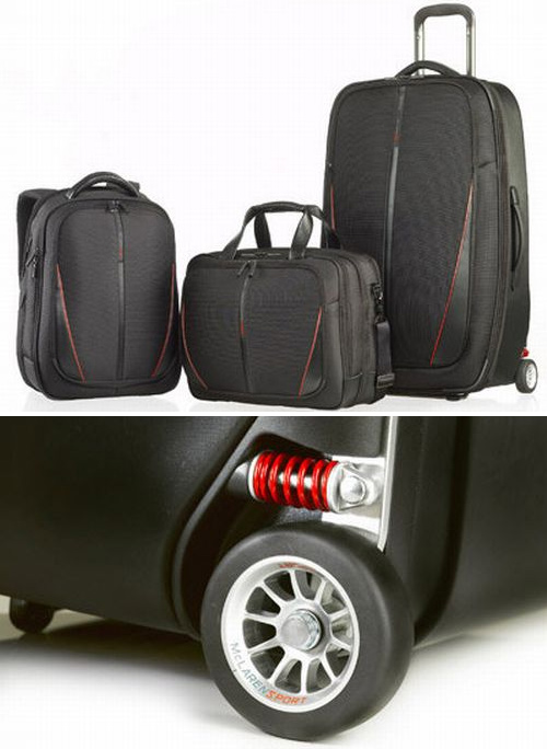 McLaren & Samsonite Travel Bags (Images courtesy Born Rich)