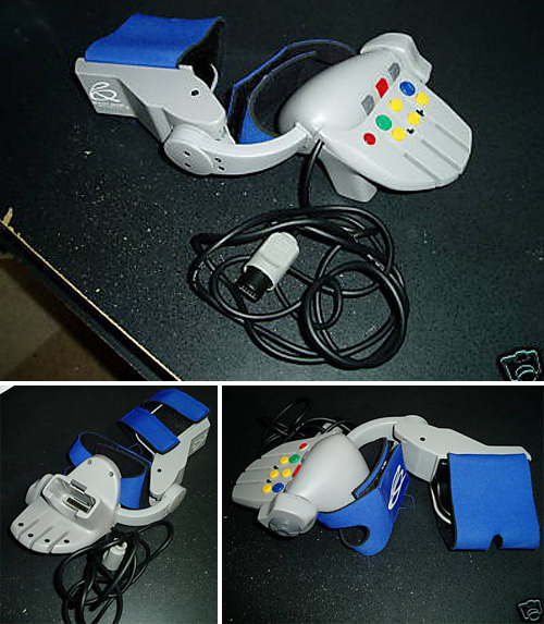 'The Glove' Controller For N64 (Images courtesy eBay)