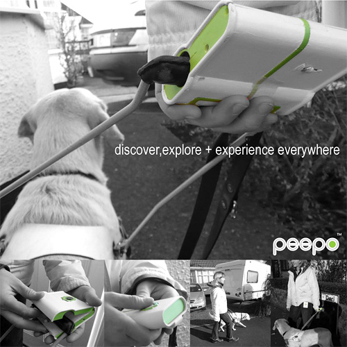 Peepo GPS Device (Image courtesy Jason Perkins)