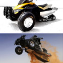Platune Sand-X Bike Is A Desert-Friendly Snowmobile