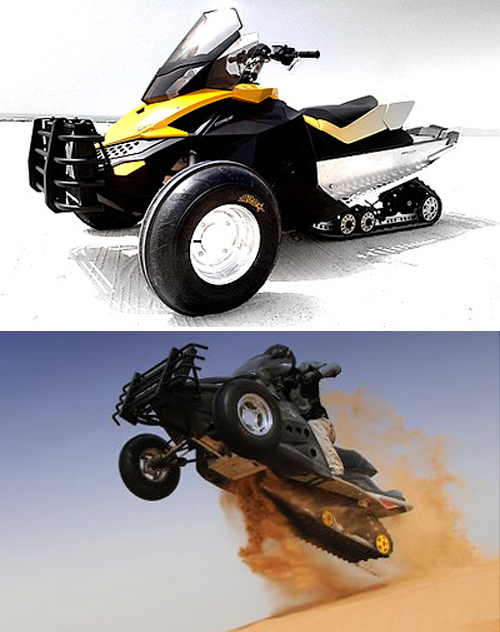 Platune Sand-X Bike (Images courtesy Diseno-art.com)