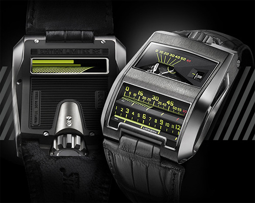URWERK UR-CC1 King Cobra (Image courtesy URWERK)
