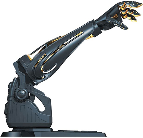 Star Wars Darth Vader Robotic Arm (Image courtesy StarWarsShop.com)