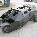 Build Your Own Tumbler Go-Kart – You Know, Like From Batman, Only Mini