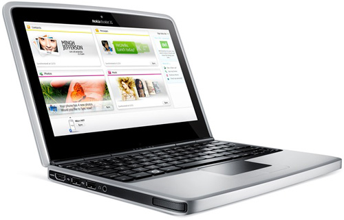 Nokia Booklet 3G (Image courtesy SlashGear)