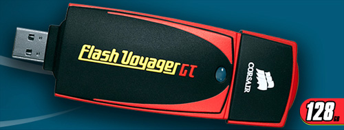 Flash Voyager GT 128GB (Image courtesy Corsair)