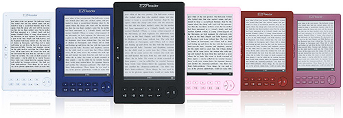 Astak Pocket PRO eBook Reader (Image courtesy Astak)