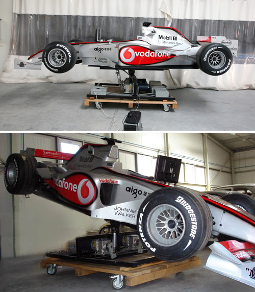 F1Showcar Motion Simulator (Images courtesy F1Showcar.com)
