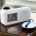 Bedside Fire Alarm And Clock