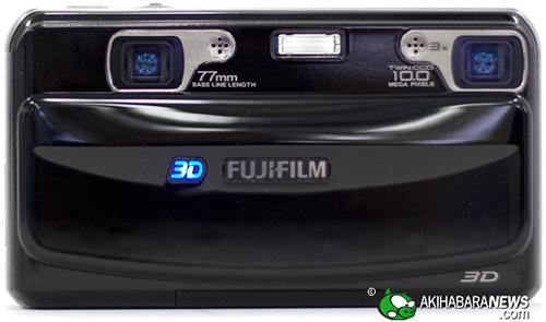 Fujifilm W1 3D Camera (Image courtesy Akihabara News)