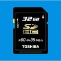 Toshiba Announces 64GB SD Card