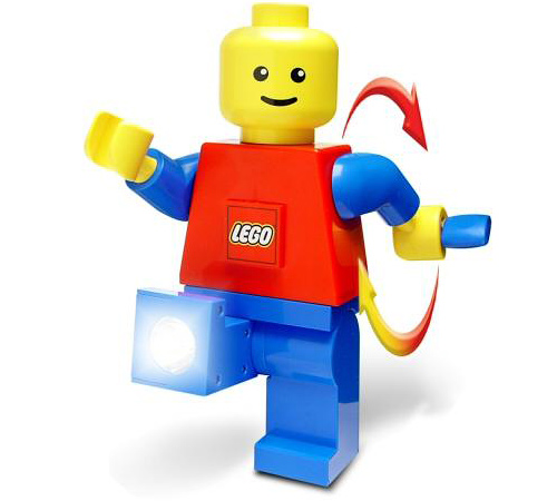 LEGO Dynamo Flashlight (Image courtesy Play.com)