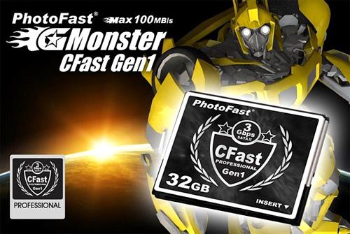PhotoFast CFast Gen1 (Image courtesy Akihabara News)