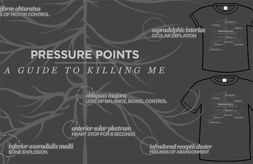 Pressure Points Tee (Image courtesy TopatoCo)