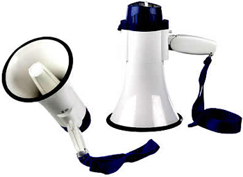 Recordable Supporter's Megaphone (Image courtesy Otherland Toys)