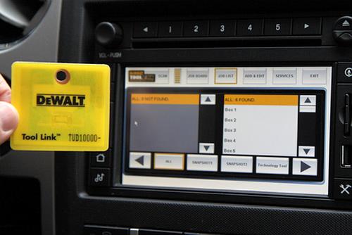 Ford & DeWalt Tool Link (Image courtesy Gearlog)