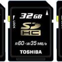 Toshiba Announces First 64GB SDXC Card