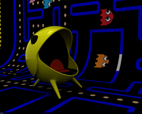 Pac-Man-Chair