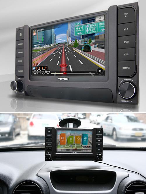 APSI C100 GPS Nav System (Images courtesy PEMPI)