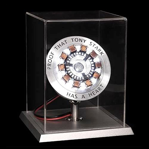 Iron Man Movie Arc Reactor Prop Replica (Image courtesy Entertainment Earth)