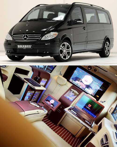 Brabus Viano Concept (Images courtesy Serious Wheels)